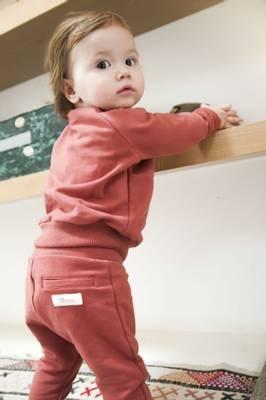 LITTLE HEDONIST SWEATER CECILIA UNI (BABY) <br> BRICK