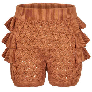 Bilde av EN*FANT BLOOMER <br> LEATHER BROWN