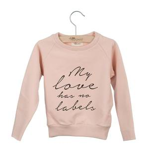 Bilde av LITTLE HEDONIST SWEATER CECILIA PRINT <br> PEACH