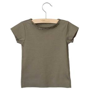 Bilde av LITTLE HEDONIST SUMMER SHIRT ISABEL <br> TAUPE