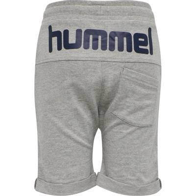 HUMMEL FLICKER SHORTS <br> GREY MELANGE