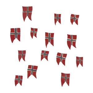 Bilde av THATS MINE WALLSTICKER <br> NORWEGIAN FLAGS 14PCS