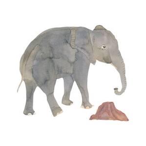 Bilde av THATS MINE WALLSTICKER <br> ELEPHANT