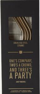 Bilde av Set of Four Copper Plated Straws