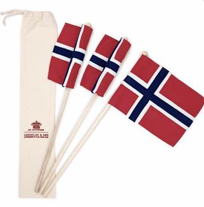 Bilde av 3pk Norgesflagg