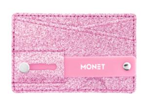 Bilde av Mobil wallet glitter Rosa