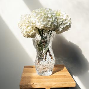 Bilde av Ostrea Rock vase H30cm Glass Clear