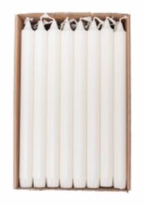 Bilde av Kronelys 28cm Hvit