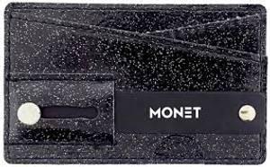 Bilde av Mobil wallet Black glitter