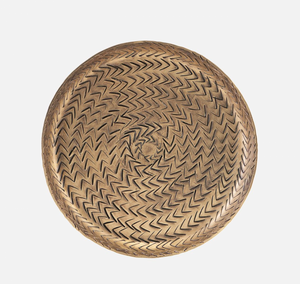 Bilde av Brett, Rattan, Messingfinish 16cm