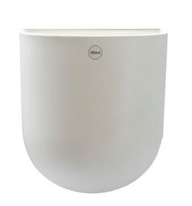 Bilde av CUT Veggehngt potte XL White