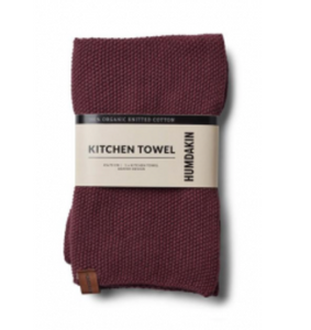 Bilde av Knitted kitchen towel Plomme