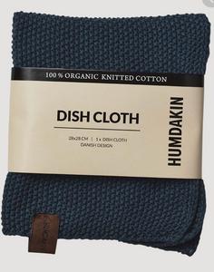 Bilde av Knitted dishcloth Sea Blue