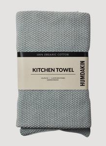 Bilde av Knitted Kitchen towel grey