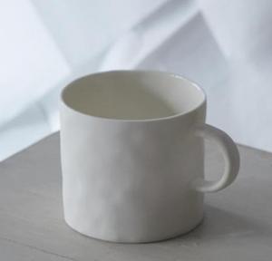 Bilde av Mug with handle Hvit