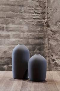 Bilde av Stor RAW vase - mørkegrå -