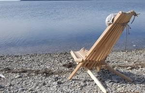 Bilde av Lazy stol med pute -