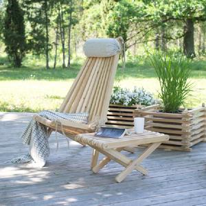 Bilde av Lazy stol m/ bord og pute -