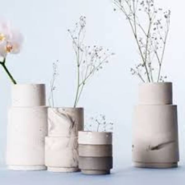Bilde av Keramikk vase - prikk - Nobel