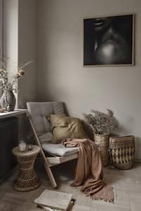 Bilde av BOOGIE STOL GRÅ/HVIT - KARUP