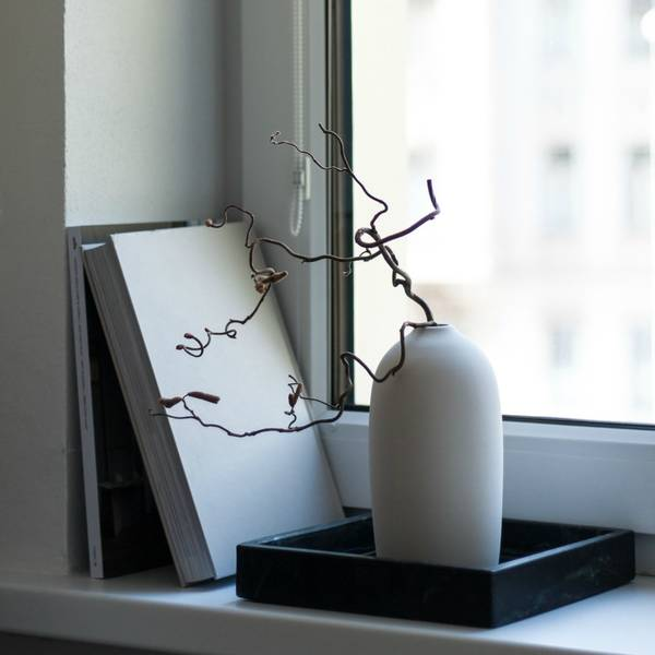 Bilde av Stor RAW vase - hvit -