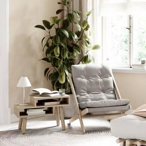 Bilde av BOOGIE STOL GRÅ/SORT - KARUP