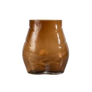 Bilde av Vase Butt Glass Brun