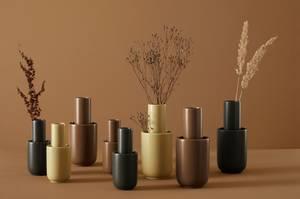 Bilde av Amel Vase Taupe medium