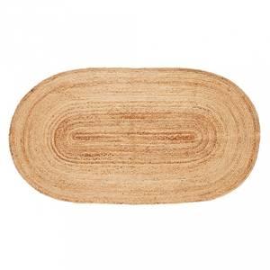 Bilde av gulvteppe ovalt jute