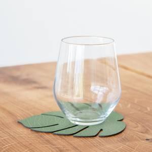 Bilde av LindDNA Glassbrikke Montsera Forest Green