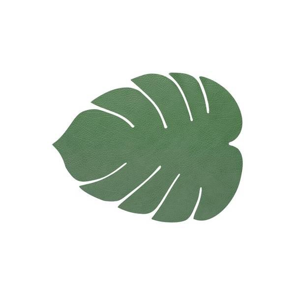 LindDNA Bordbrikke Montsera Forest Green