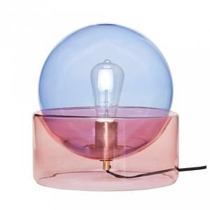 Bilde av Bordlampe glass farget
