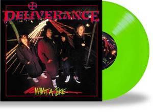 Bilde av DELIVERANCE: What A Joke LP/green vinyl