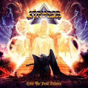 Bilde av STRYPER: Even The Devil Believes LP (Black vinyl w/gatefold cove