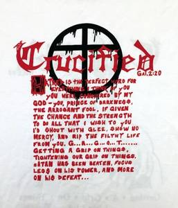 Image of CRUCIFIED: Getting A Grip On Things (t-shirt)