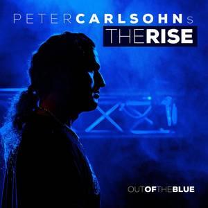 Bilde av PETER CARLSOHN's THE RISE: Out Of The Blue LP