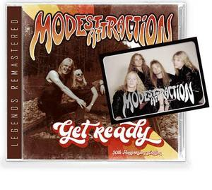 Image of MODEST ATTRACTION: Get Ready CD *PRE-ORDER*