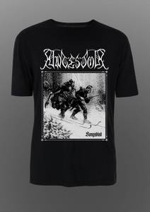 Bilde av ANTESTOR: Kongsblod (b/w) t-shirt