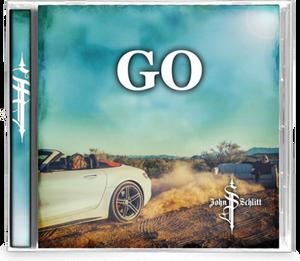 Bilde av SCHLITT JOHN: GO (CD)