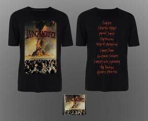 Image of LIVING SACRIFICE: Living Sacrifice CD/T-SHIRT BUNDLE