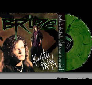 Bilde av BRIDE: Kinetic Faith LP/green swirl vinyl