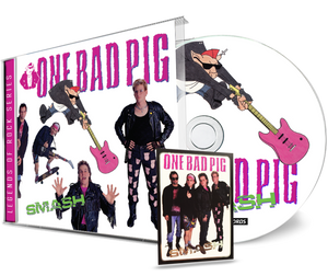 Image of ONE BAD PIG: Smash CD (remastered)