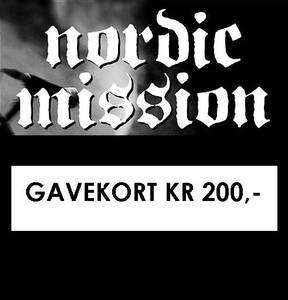 Bilde av GAVEKORT KR 200,-