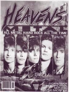 Image of HEAVEN'S METAL: #85 (zine)