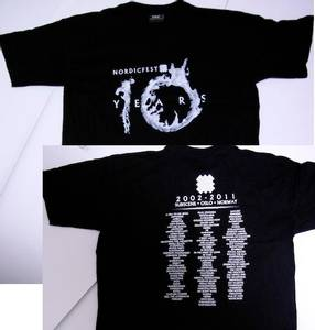 Image of NORDICFEST: 10 Years (t-shirt)