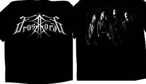 Image of FROSTHARDR: Logo/Bandpicture (t-shirt)