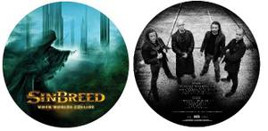 Image of SINBREED: When Worlds Collide (LP - picture disc)