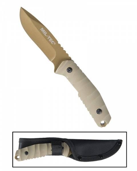 440/G10 Kniv med slire