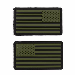 Bilde av Badge med velcro PVC - US