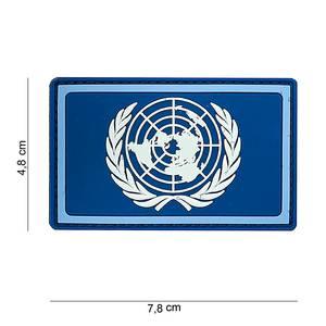 Bilde av Flagg med velcro - FN